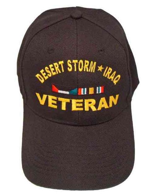 desert storm iraq veteran ribbon hat