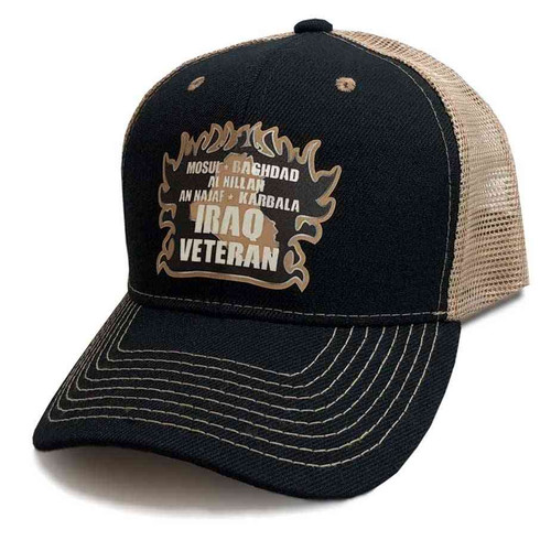 iraq veteran mesh baseball hat