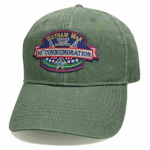 vietnam veteran hat 50th commemoration classic edition vintage o d