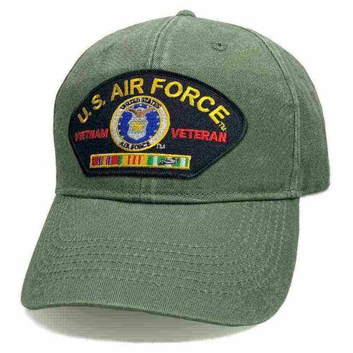 usaf vietnam veteran hat ribbons and eagle emblem classic edition vintage o d