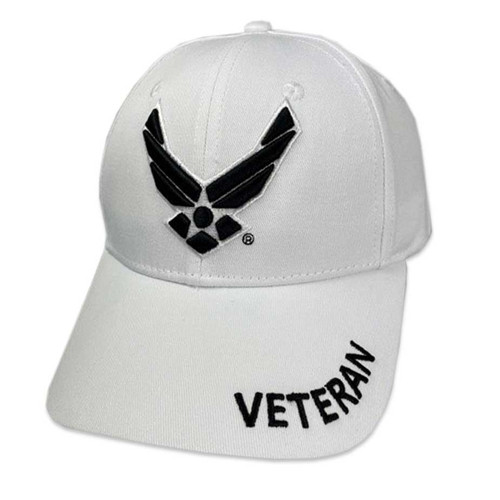 officially licensed us air force hat air force wings logo embroidered