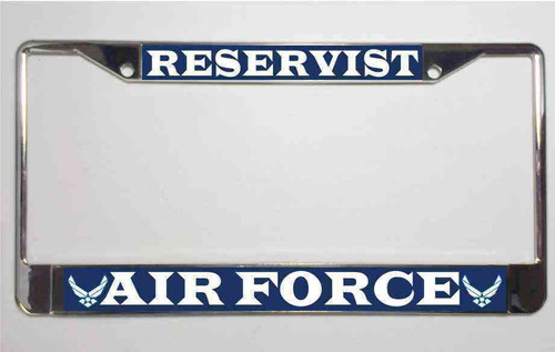 air force reservist license plate frame