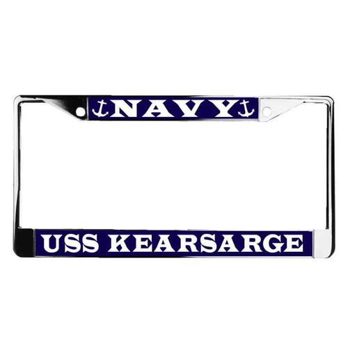 uss kearsarge license plate frame