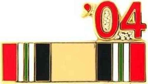 2004 iraq hat lapel pin