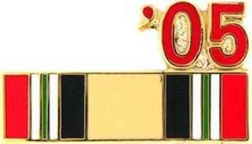 2005 iraq hat lapel pin