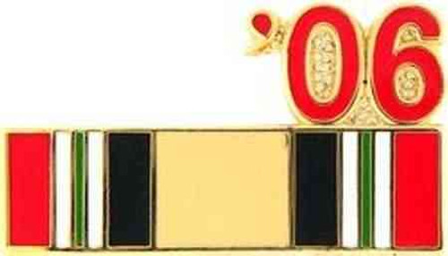 2006 iraq hat lapel pin