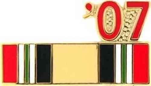 2007 iraq hat lapel pin