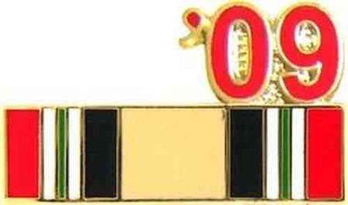 iraq veteran 2009 ribbon pin
