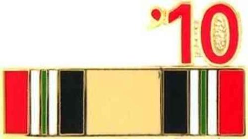 2010 iraq hat lapel pin