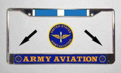 u s army aviation korea veteran license plate frame