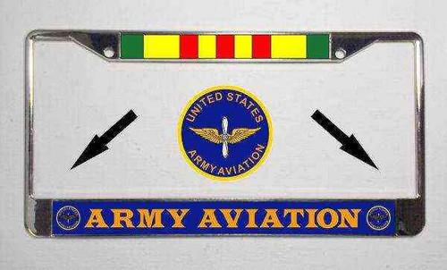 u s army aviation vietnam veteran license plate frame
