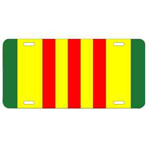 vietnam war ribbon license plate