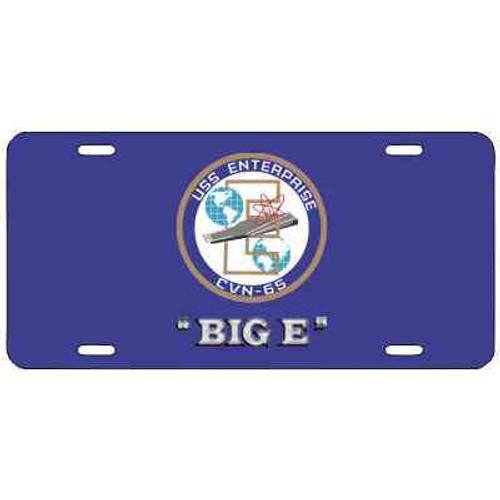 navy uss enterprise nickname license plate