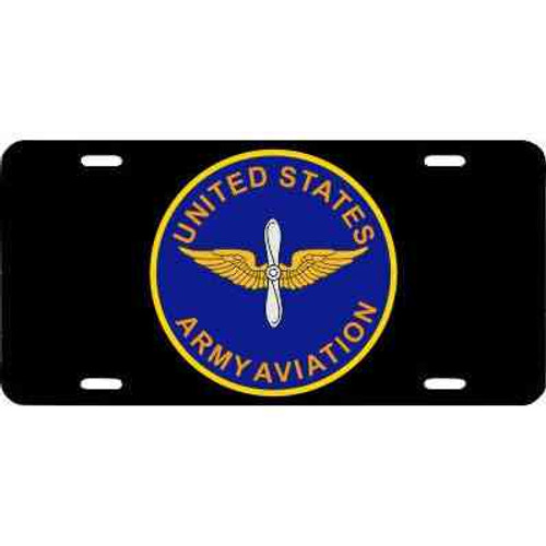 u s army aviation license plate