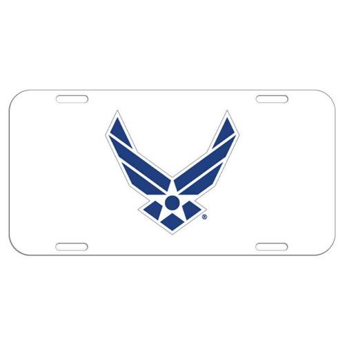 u s air force symbol license plate