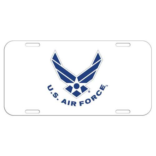 usaf license plate