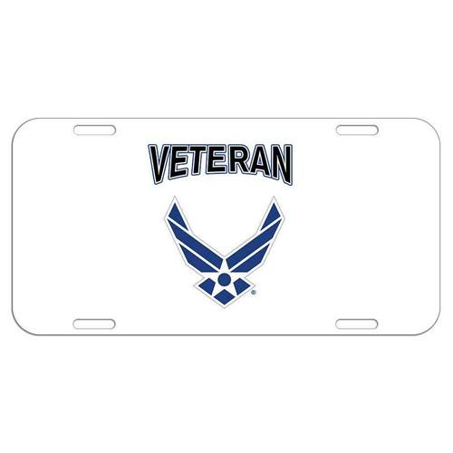 usaf wings veteran license plate