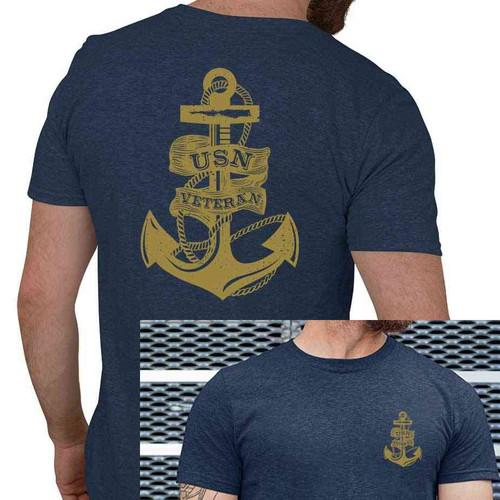 usn veteran tshirt anchor