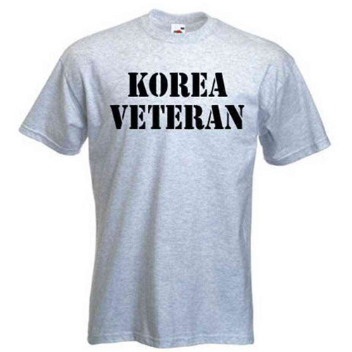 custom korea veteran tshirt