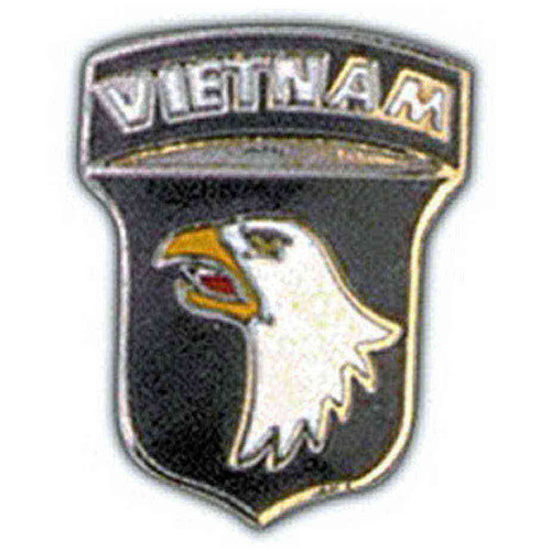 army 101st airborne division vietnam pin