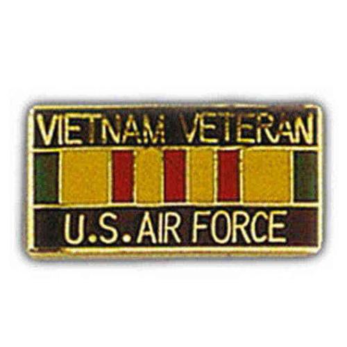 us air force vietnam veteran service ribbon pin