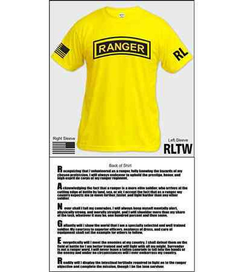 army ranger creed shirt
