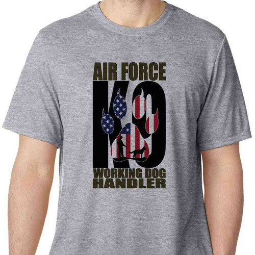air force k9 working dog handler shirt
