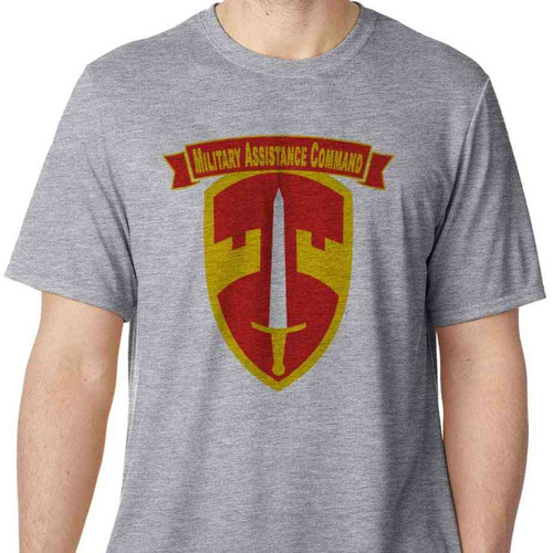 army macv military assistance command vietnam performance tshirt