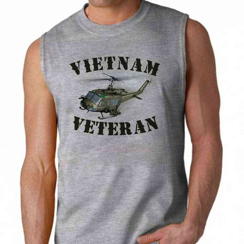 vietnam veteran huey sleeveless shirt