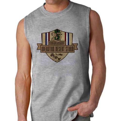 desert storm 25th anniversary sleeveless shirt