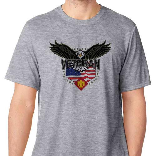45th infantry brigade w eagle basic grey t shirt