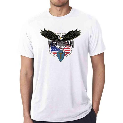 36th infantry division w eagle white tshirt