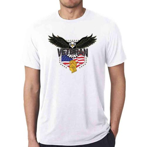 womens army corps eagle white tshirt