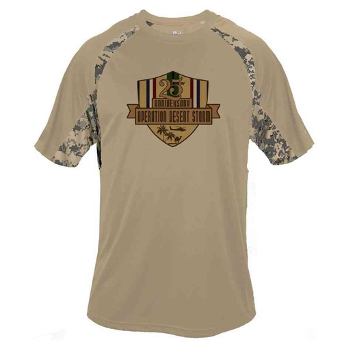 desert storm 25th anniversary digital camo style performance shirt