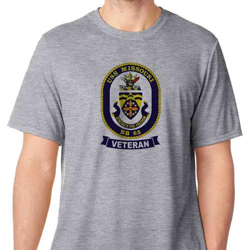 uss missouri veteran tshirt