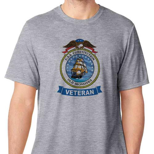 uss constitution veteran tshirt