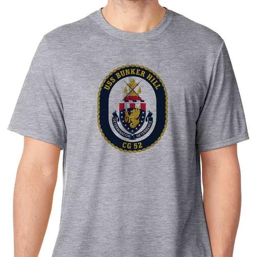 uss bunker hill tshirt