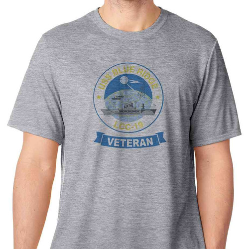 uss blue ridge veteran tshirt