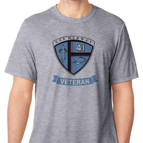 uss midway veteran tshirt