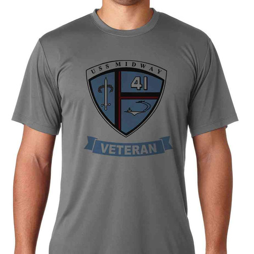 uss midway veteran ss tshirt