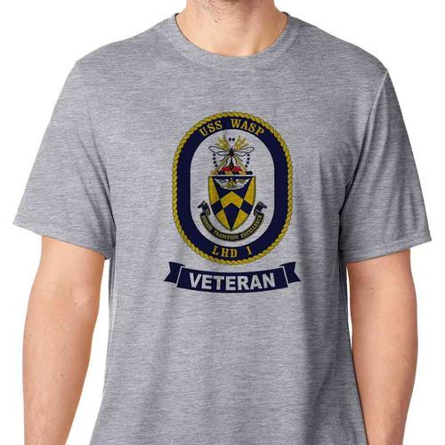 uss wasp veteran tshirt