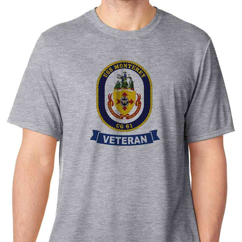 uss monterey veteran tshirt