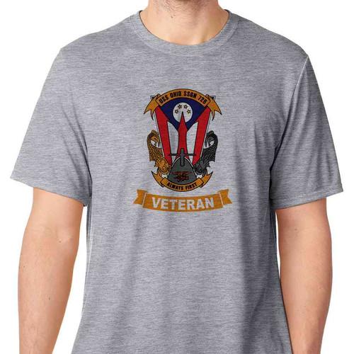 uss ohio veteran tshirt