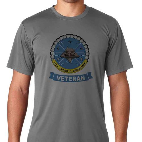 uss dwight d eisenhower veteran ss tshirt