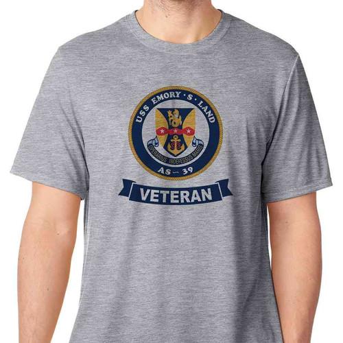 uss emory s land veteran tshirt
