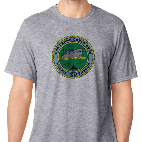 uss frank cable tshirt