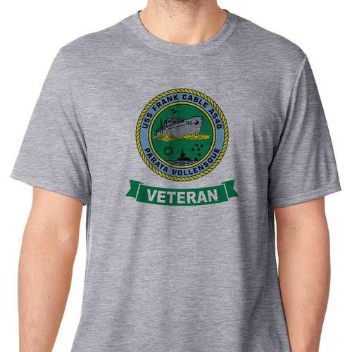 uss frank cable veteran tshirt