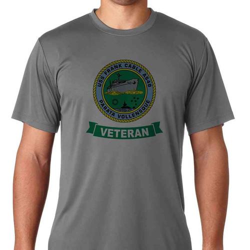 uss frank cable veteran ss tshirt