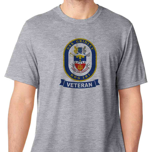 uss gridley veteran tshirt