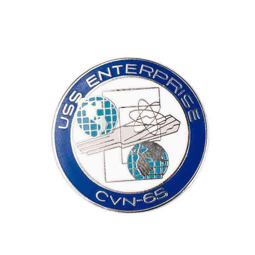 navy uss enterprise hat lapel pin